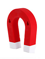 Creastive ABS/Strong Magnetic  Indoor Decorative Accessories Hook Key Hang Gifts(Color Random)