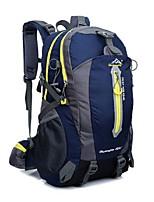 40L L Путешествия Вещевой / рюкзак / Заплечный рюкзак Отдыхитуризм На открытом воздухе МногофункциональныйЗеленый / Черный /