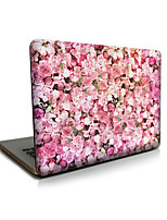 For MacBook Air 11 13/Pro13 15/Pro with Retina13 15/MacBook12 Pink roses Apple Laptop Case