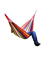 Foldable  Portable  Compression Hammock Red  Blue  Orange Hiking  Camping  Traveling Spring  Summer Autumn  WinterCanvas