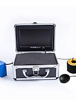 Outils de pêche Etanches / LED CE / RoHs Portable Lumière blanche On/Off Avec fil 18650 Métal Noir