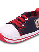 Boys' Flats Spring Fall Comfort First Walkers Canvas Outdoor Casual Flat Heel Gore Dark Blue