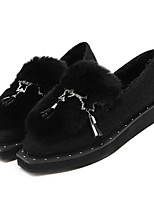 Women's Loafers & Slip-Ons Others Other Animal Skin Casual Black Gray