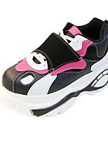 Damen-Sneaker-Lässig Sportlich-Tüll PU-Flacher Absatz-Andere-Schwarz Blau Gelb Rosa Rot Weiß Grau Beige