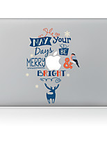Christmas Series Decorative Skin Sticker for MacBook Air/Pro/Pro with Retina