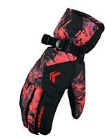 Luvas de esqui Dedo Total Mulheres / Homens Luvas Esportivas Prova de Neve Luvas Snowboard Poliéster Inverno