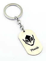 Inspired by Pharah Overwatch  Anime Cosplay Accessories Keychain Silver Alloy