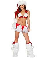 Newest Sexy Bikini Christmas Costumes Women's Stage Performance Clothing Adult Christmas Party Dress