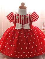 Girl's Party/Cocktail Polka New Born Baby Dress Summer