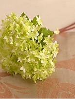 1 1 Une succursale Plastique / Autres Hortensias / Plantes / Autres Fleur de Table Fleurs artificielles