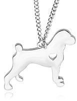 Necklace Bulldog Pendant Necklaces Jewelry Party / Daily Unique Design