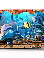 3D Underwater World Pattern MacBook Computer Case For MacBook Air11/13 Pro13/15 Pro with Retina13/15 MacBook12