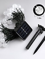 Jiawen 4.5m 30leds 8 Modes Outdoor Waterproof Solar LED String Lights