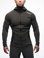 Men's Long Sleeve Running Tops Breathable Compression Lightweight Materials Seamless Sweat-wicking Softness Soft ComfortableSpring