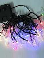 1pc 4.8m 20LED lumière chaîne de l'énergie solaire pour le mariage de fête de Noël a mené l'éclairage de Noël