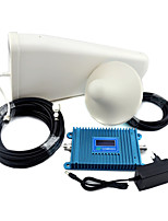 GSM 900mhz Mobile Phone Signal Booster GSM980 Signal Repeater with Log Periodic Antenna / Ceiling Antenna /  LCD Display