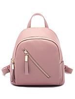 Women PU Sports / Casual Backpack Pink / Gray / Black