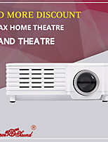 HTP GP-9 LCD Mini HOME THEATER Projector WVGA (800x480) 800 LED 43 169