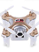 Drone Cheerson CX-10WD+TX 4CH 6 Eixos 2.4G Com Câmera Quadcóptero RCIluminação De LED / Auto-Decolagem / Seguro Contra Falhas / Vôo