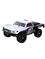 734a 2.4ghz 116 4WD caminhão rc rali - branco
