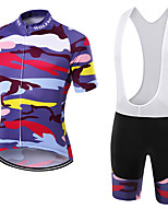 WOLFKEI Summer Cycling Jersey Short Sleeves BIB Shorts Ropa Ciclismo Cycling Clothing Suits #30