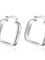 Earrings Set Jewelry Women Wedding Party Daily Casual Sterling Silver Silver Plated 1 pair Silver