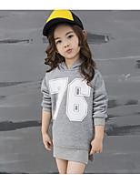 Unisex Casual/Daily Print Hoodie & Sweatshirt,Cotton / Rayon Winter / Spring / Fall Long Sleeve