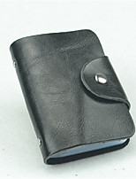 Unisex Card & ID Holder Cowhide Casual Office & Career Professioanl Use