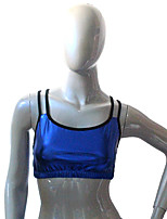 Latin Dance Tops Women's / Children's Training Cotton / Lycra 1 Piece Top / Bra