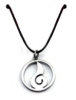 Inspired by Naruto Sasuke Uchiha Anime Cosplay Accessories Necklace Silver Alloy