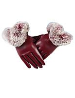 леди типа U осень зима сенсорный экран перчатки