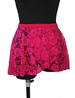 Ballet Dance Lace Wrap Skirts with Cotton/Lycra Waistband More Colors for Girls and Ladies