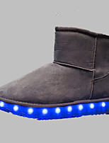 LED Light Up Shoes,Boy's Boots Spring Fall Winter Comfort Synthetic Outdoor Casual Athletic Flat Heel Black Brown Pink Purple Gray Others
