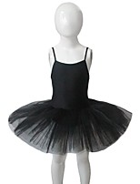 Ballet Dresses Women's / Children's Performance Nylon / Tulle / Lycra 1 Piece Sleeveless Tutus