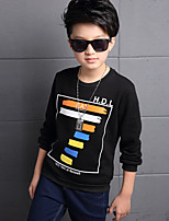 Boy Casual/Daily Solid Blouse,Cotton / Polyester Winter / Spring