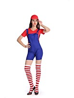 Halloween Anime/Videogame For Super Mario Costume Disfraces Adultos Carnival Costume Adults Women Anime Cosplay Super Mario Bros. Costume