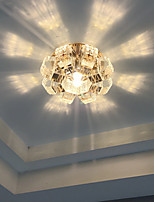 Elegant Crystal Recessed Downlight for Foyer Decoration