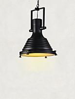 60 Lampe suspendue ,  Traditionnel/Classique Rustique Retro Rétro Peintures Fonctionnalité for Style mini MétalSalle de séjour Chambre à