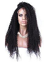 Afro Kinky Curly Synthetic Lace Front Wig Natural Black Color Top Quality Heat Resistant Synthetic Hair Wigs For Women