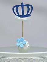 Украшения для торта Персонализированные не Сердца Картон День рождения Бант Золотой Пляж 1 Пенополиуретан