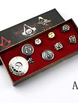 Reloj Inspirado por Asesino Conner Anime/Videojuego Accesorios de Cosplay Más Accesorios Plata Aleación Unisex