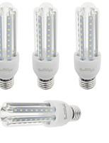 9W E26/E27 LED corn žárovky T 48 SMD 2835 750 lm Teplá bílá / Chladná bílá Ozdobné V 4 ks