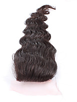 7A Inexpensive Virgin Hair 3.5*4 Unprocessed Brazilian Lace Top Closure With Baby Hair Closure Human Hair Body Weave Closure