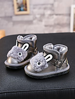 Boy's Boots Others Microfibre Casual Black / Gray
