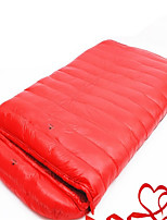 Sleeping Bag Double Wide Bag Single 10 Down 1000g 180X30 Hiking / Camping / Traveling Rain-Proof / Foldable / Portable / Sealed OEM