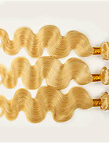 #613 Body Wave Human Hair Weaves Soft Hair Extension