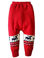 Baby Casual/Daily Pants,Cotton Winter / Fall Blue / Green / Red