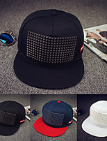 Europe and the United States street along the hip-hop cap Rivet outdoor sunshade baseball cap Breathable / Comfortable Unisex BaseballSports