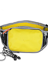 1.5 L Belt Pouch/Belt Bag Camping & Hiking Outdoor Waterproof / Wearable Yellow TPU