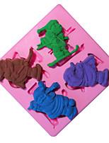 1 סיליקוןריצה לתבנית אפייה משומנת לעוגה / עבור קוקי / לקבלת Cupcake / עבור פאי / פיצה / Other / עבור קרח / לקבלת שוקולד / ללחם איכות גבוהה